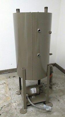 Fulton Stainless Steel Vertical Return Tank W Pump