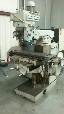 Prvomajska Knee Type Mill Milling Machine Nmtb40 Bridgeport