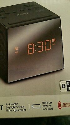 BLACK SONY ICFC1T DUAL ALARM, CLOCK RADIO! BEST PRICED!