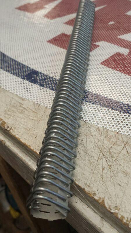 """Clipper Baler Belt VISE lacing #3 4-1/2-6 10"""" galvanized 10 pack"""