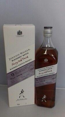 Johnnie Walker Blenders' Batch Sherry Cask 12 Jahre 1L