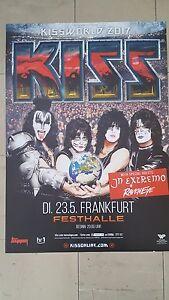 Kiss Konzert  Plakat DIN A1