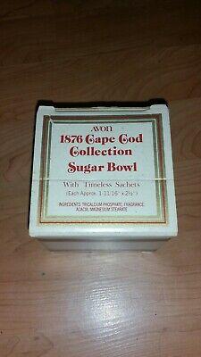 Avon Cape Cod Sugar Bowl   NIP !