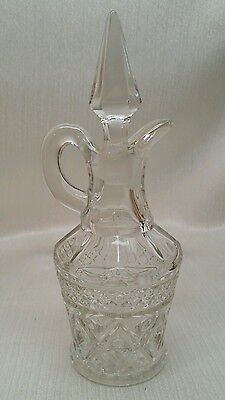 IMPERIAL GLASS CAP COD CRUET