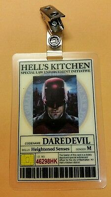 Daredevil Id-Plakette -daredevil Requisite Cosplay Kostüm