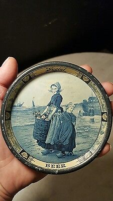 Antique Circa 1900 Goebel Beer Tip Tray-Nice 1