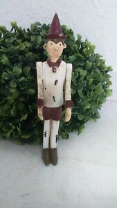 Pinocchio-PINOCHIO-Figura-de-pie-Decoracion-Shabby-Chic-Vintage-Casa-De-Campo