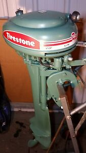 Firestone 3.6 hp outboard decal
