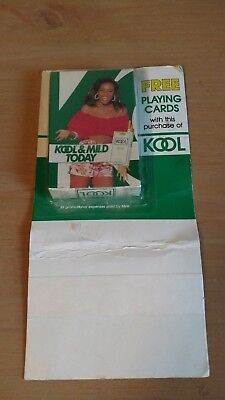 KOOL Cigarettes Kool & Mild Today Deck of Playing Cards on bliister card ()