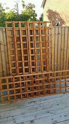 Wooden Garden Trellis 5 off 6ft x 2ft