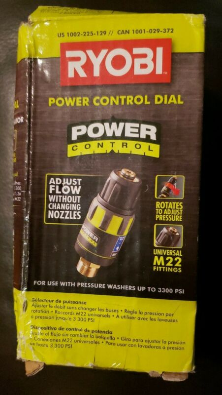 Ryobi Pressure Washer Power Control Dial 3300 Max PSI