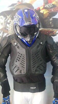BONZ--MX Full Body Armour Deflector Enduro Pit Bike Jacket SIZE MEDIUM