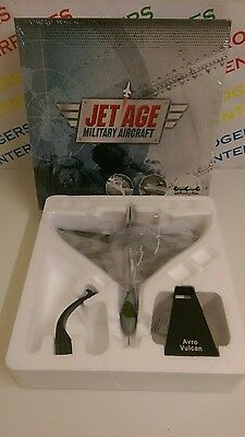 Atlas Editions Jet Age Military Aircraft Avro Vulcan Bomber Model - NEW Sealed