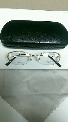 New Authentic Vera Wang Epiphany 2 Titanium Jewelled Eyeglass Frames MSRP $250!