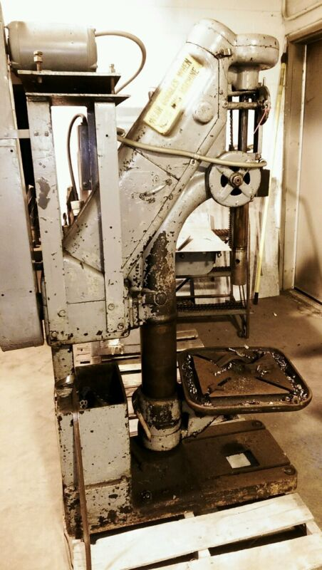 Barnes Drill  Press,  Well Built Functional Antique, 1913 Patent Date