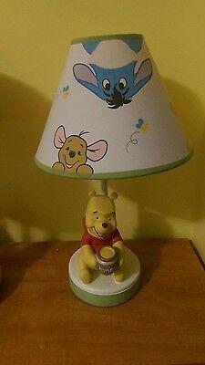 Disney Baby Peeking Winnie the Pooh Nursery Lamp with Shade Christmas gift