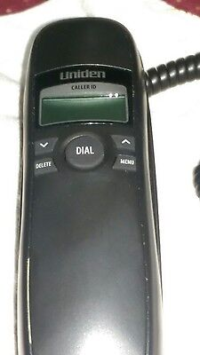 UNIDEN 1260BK CORDED PHONE WITH CALLER ID
