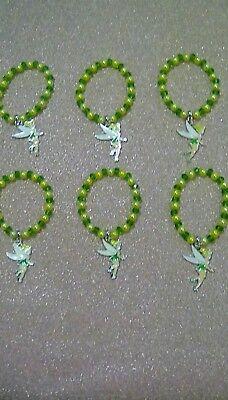 DISNEY TINKER BELL PETER PAN SIX PARTY SPARKLE  BRACELETS TOP - Peter Pan Party Kostüm