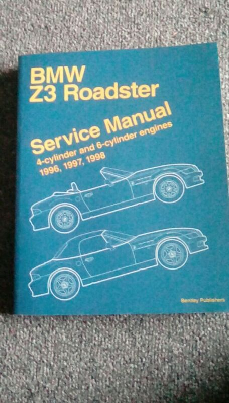 BMW Z3 Roadster Service Manual by Bentley Publications