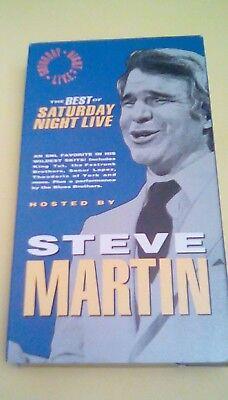 Best of Saturday Night Live - Steve Martin 1992 VHS King Tut Blues Brothers