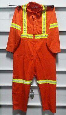 Anchor Textile Coverall Orange Size52 100 Cotton Skbawa-b093