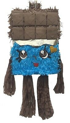 Chocolate Bar Pinata, Can be used for Shopkins theme party! Themed Chocolate Bar