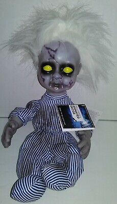 Demon Baby Halloween Prop (Animated Animatronic Creepy Demon Doll Baby Halloween Spooky Haunted Horror)