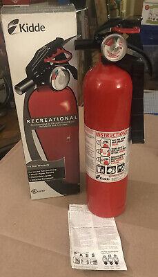 Kidde Jeep Marine Emergency Fire Extinguisher Dry Chemical Boat Auto Fa110 New