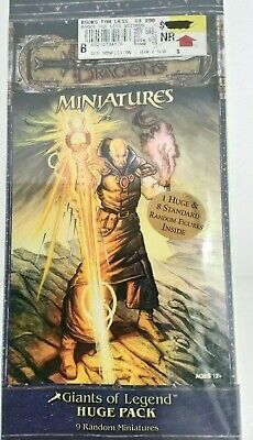 DUNGEONS and DRAGONS Miniatures Giants of Legend Huge Pack NIB Miniatures Huge Pack