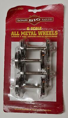 Bachmann 92421 Big Haulers G SCALE All Metal Wheels Set of 4