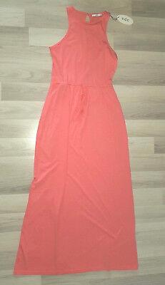 ESPRIT Damen Kleid/ Sommerkleid/ Strandkleid/ Orange Gr: S Neu!