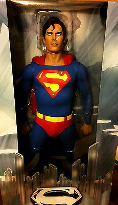 Neca Superman 1/4 Figur / PVC Statue 1978 Christopher Reeve 45 cm neu OVP