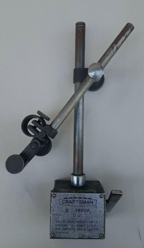 Vintage Magnetic Indicator Stand, Sears Craftsman 9 38908