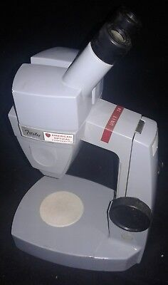 Vintage American Optical Stereoscopic Scientific Microscope Forty 40 43-3