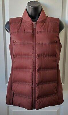 Lululemon Down & Around Vest, Dark Cedar, Size 6