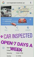 Car mechanic - vehicle inspector - day time