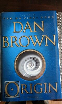 Dan Brown Signed Autograph Origin 1st Edition/1st Printing Hardcover Book  for sale  Shipping to India