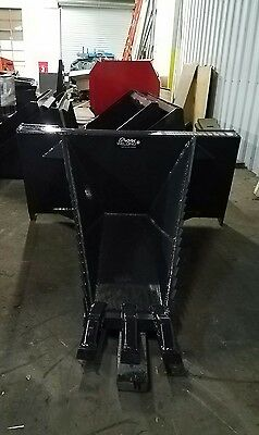 New Extra Hd 48inch Skid Steer Stumprootbucketkmk Welding Llcbobcatkubota