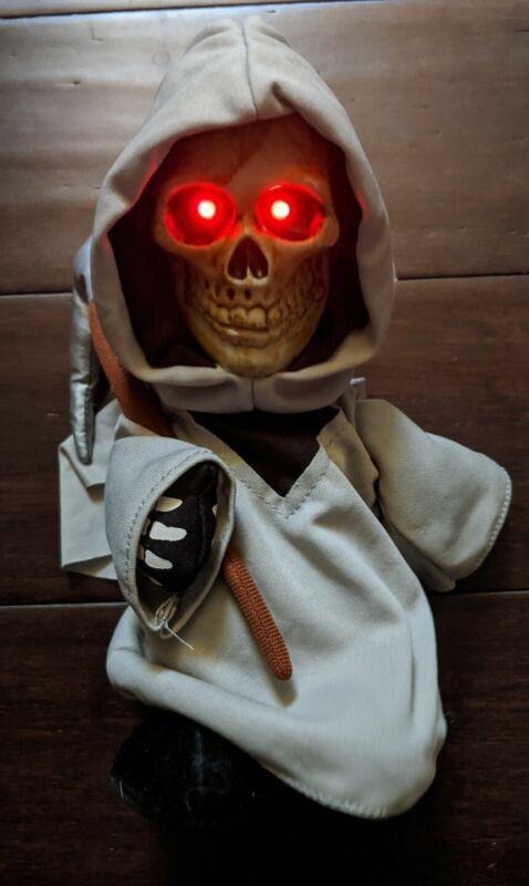 Halloween Animated Dancing Grim Reaper Light Up Illuminated Plays Adams Family
