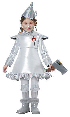 Tin Man Girl Wizard Of Oz Toddler Costume (Wizard Of Oz Toddler Costumes)