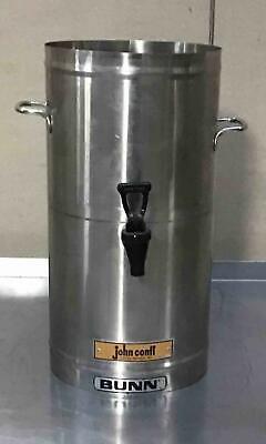 BUNN TDS-3 Iced Tea Dispenser beverage 3 gallon urn stainless steel Bunn Stainless Steel Beverage Dispenser