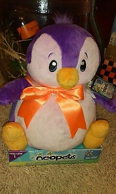 Neopets Purple Bruce rare series one jumbo collector plush 2008 new in box