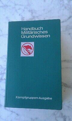 NVA-Ausgabe Handbuch Militärisches Grundwissen Militärverlag der DDR 1984