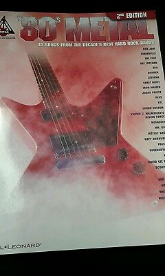 80s metal 2nd edition guitar tab book (80s Metal 2nd Edition)