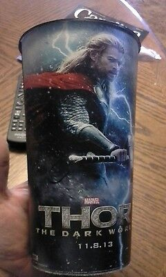 Thor The Dark World Carmike Cinema Promo Movie Cup 36Oz