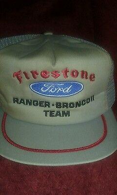 vintage Firestone Ford  baseball cap