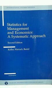 Statistics for Management and Economics: A Systematic Approach, 2nd Edition.
