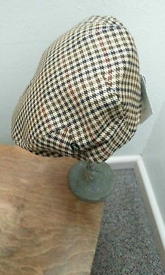 Men's City sports flat cap 7 1/8- 58cms