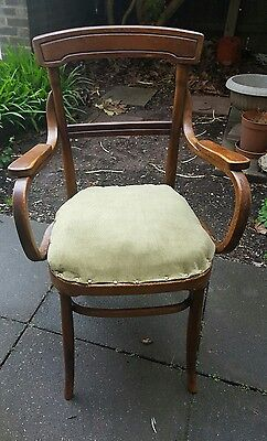 Vintage Bentwood Kitchen Dining Cafe Chair Mundus & JJ Kohn Good condition