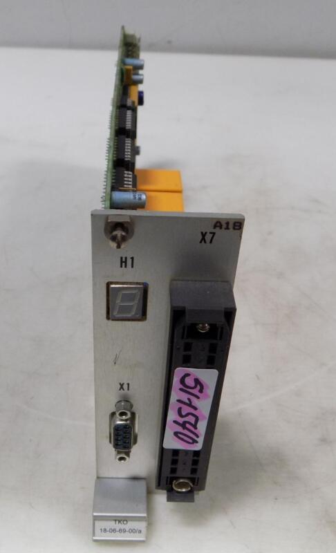 HAAS LASER CONTROL MODULE 18-06-39-AH V-1.1
